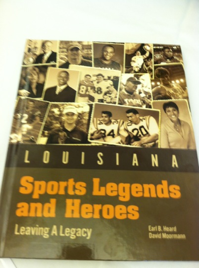Attending the Louisiana Sports Legends and Heroes Recognition Ceremony.