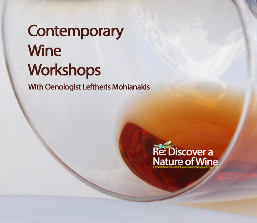 Contemporary Wine workshops - discovering wines