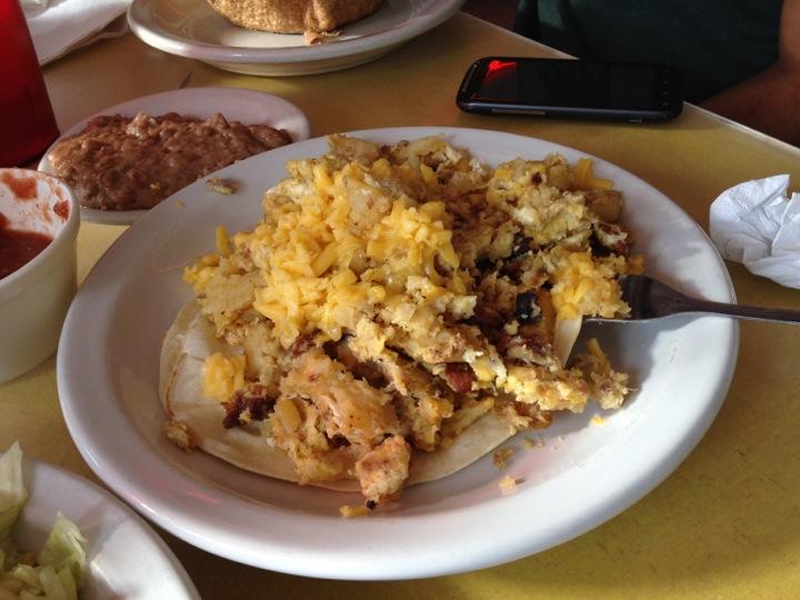 Breakfast at Juan in a Million