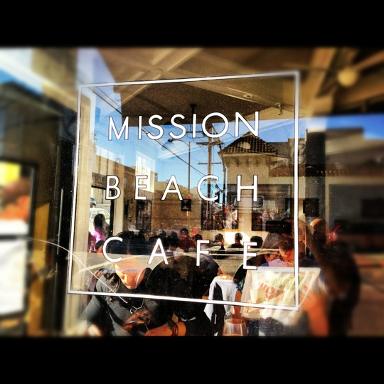 Mission beach cafe